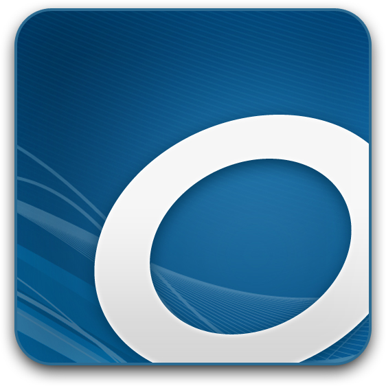 OverDrive Logo - Blue Hill Public Library