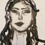 Fingerprint Self-Portrait- Alexon Astbury