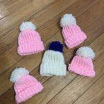 Crocheted Baby Hats by Torrin Eaton