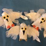 PreK-K Snowy Owl sculptures