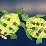 1/2 Mosaic Sea Turtles