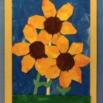 1/2 Sunflower Collage