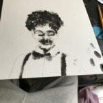 Fingerprint Self-Portrait- Solomon Haggarty