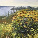 "Louise Bourne, ""Island Tansy"" SOLD"