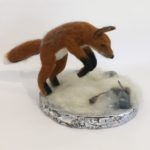 "Lyn Mayewski, ""Leaping Fox & Mice"""