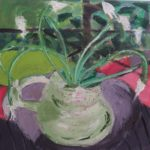 "Jill Finsen, ""Garlic Scapes"" SOLD"