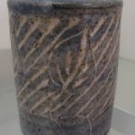 "Carolyn Mayher, ""Incised Vase"""