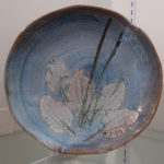 "Carolyn Mayher, ""Leaf Plate"" SOLD"