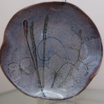 "Carolyn Mayher, ""Leaf Plate 3"""