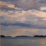 "Patricia Pettigrew, ""Clouds Over the Reach"""