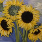 "Marcia Stremlau, ""Sunflowers"" SOLD"