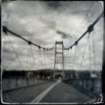 """Deer Isle Sedgwick Bridge 2"" Susan Finsen; Altered Photograph; $460"