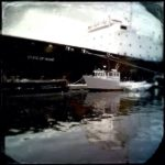 """Training Ship State of Maine,"" Susan Finsen; Altered Photograph; $460"