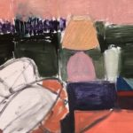 """View from Trudy's No. Four,"" Jill Finsen; Oil on Linen; $750"