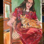 """Penny Ricker, """"Liza,"""" acrylic, 20x30, $500"""