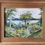 """Penny Ricker, """"Sorrento Garden,"""" oil, 14x11, $400"""