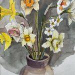 "Penny Ricker, ""May Bouquet,"" watercolor, 11x14, $350"