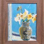 "Penny Ricker, ""Daffodils,"" oil, 11x14, $400"