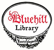 Blue Hill Library book plate